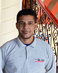 Manager Housekeeping: Ahmed Sabet